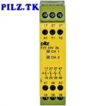 PilZ 774582 PZE X4V 2/24VDC 4n/o fix LiNE iD : PILZ.TK