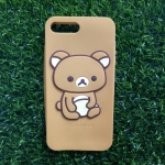 ซิลิโคนคุมะ iphone7 plus/iphone8 plus(ใช้เคสตัวเดียวกัน)