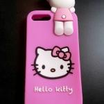 ซิลิโคนแมวชมพู เกาะหลัง iphone7 plus/iphone8 plus(ใช้เคสตัวเดียวกัน)