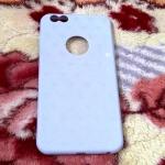 TPU ทรายโบว์ iphone6 plus/6s plus สีม่วงลายดาว