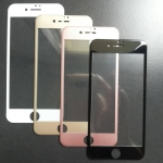ฟิล์มกระจกนิรภัยเต็มจอขอบโค้งลงมุม iphone7