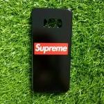 TPU ลายเส้นนูน superme สีดำ S8