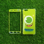 TPU นิ่มประกบหน้าหลัง MONSTERS Mike Oppo F1s(A59)