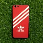 TPU ลายเส้นนูน สีแดง-ขาว iphone6 plus/6s plus