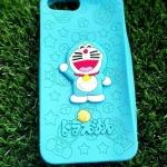 ซิลิโคนตูนแมวสีฟ้านูน iphone7 plus/iphone8 plus(ใช้เคสตัวเดียวกัน)