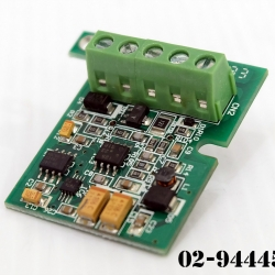 Analog Output Expansion Bord Mitsubishi Model:FX1N-1DA-BD (สินค้าใหม่)