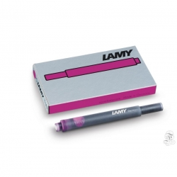 Lamy T10 Vibrant Pink Ink cartridges