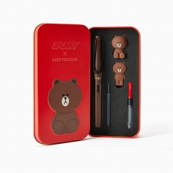 Lamy x Line Friends Brown in the Red Limited Edition 2016.