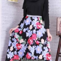 ✧☆ Floral Printed Cotton Dress ☆ ✧
