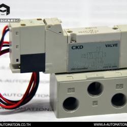 SOLENOID VALVE MODEL:4GB110-06-3 [CKD]