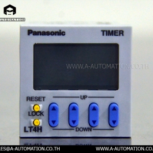 Timer Panasonic Model:LT4HLT8-DC24V