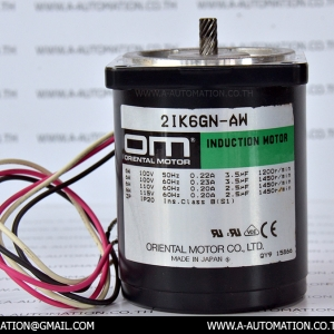 INDUCTION MOTOR MODEL:2IK6GN-AWJ [ORIENTAL MOTOR]