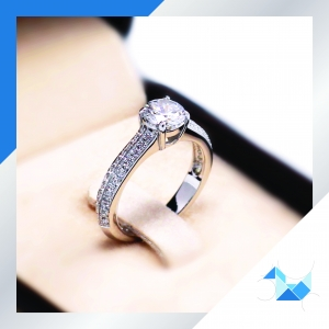 RG1621 0.75 carat luxury line