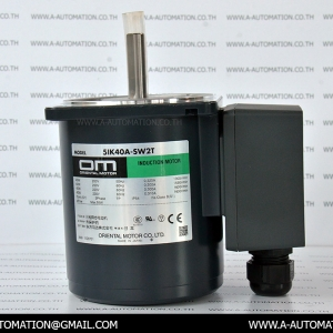 INDUCTION MOTOR MODEL:5IK40A-SW2T [200V 3PH/40W][ORIENTAL MOTOR]