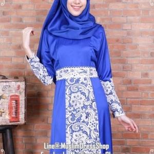 ☆ ✧A-line Lace Dress ✧ ☆ Blue