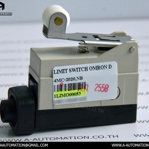 LIMIT SWITCH MODEL:4MC-2020,NB [OMRON]