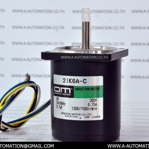 INDUCTION MOTOR MODEL:2IK6A-C [ORIENTAL MOTOR] (สินค้าใหม่)