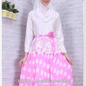 ✧☆ Sweet Polka Dot Dress ☆ ✧PINK