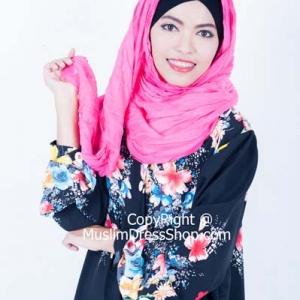 ฮอตฮิตติดเทรน์กับเดรสลายดอกไม้สวยหวานสำหรับสาวมุสลิม!!!
