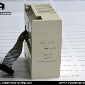 PLC MODEL:FX2N-8EYT [MITSUBISHI]