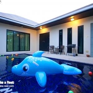 HR2001 บ้านเลิฟเลิฟ คาราโอเกะ พูลวิลล่า หัวหิน