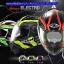 หมวกกันน็อค REAL BRAVO ELECTRO 2017 3 ลาย สี ขาว-เขียว , ดำ-เขียว ด้าน , ดำ-แดง-ด้าน thumbnail 1
