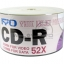 RYO CD-R 52X Printable (50 pcs/Plastic Wrap)