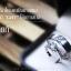 แหวนคู่รักเงินแท้ เพชรสังเคราะห์ ชุบทองคำขาว รุ่น LV15071561 TW thunder & 0.60 Carat Dazzling thumbnail 2