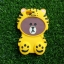 ซิลิโคนหมีน้ำตาลใส่เสื้อ iphone6/6s thumbnail 4