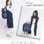 กระเป๋า Anello แบบหนัง PU ขนาดปกติ Standard สีน้ำเงิน Navy ของแท้ นำเข้าจากญี่ปุ่น พร้อมส่ง thumbnail 1
