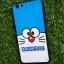 TPU ลายเส้นนูนแมวสีฟ้าตาโต Oppo A77(F3) thumbnail 4