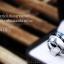 แหวนคู่รักเงินแท้ เพชรสังเคราะห์ ชุบทองคำขาว รุ่น LV14181536 TW B & 1.00 carat Cute Twist thumbnail 2