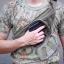 New.กระเป๋าเก็บปืนแบบคาดเอว สีดำ สีทราย สีเขียว ลายมาดิเคม ราคาพิเศษ 1,100 บาท