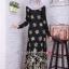 ชุดเดรสมุสลิมแฟชั่นพร้อมผ้าพันแสนสวย ✧☆ Metallic A-Line Dresses ☆ ✧ GREY