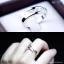 แหวนเงินแท้ เพชรสังเคราะห์ ชุบทองคำขาว รุ่น RG1453 Trios thumbnail 3