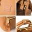 กระเป๋า Anello แบบหนัง PU ขนาดเล็ก mini สี Beige ของแท้ นำเข้าจากญี่ปุ่น พร้อมส่ง thumbnail 3
