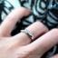 แหวนคู่รักเงินแท้ เพชรสังเคราะห์ ชุบทองคำขาว รุ่น LV14181449 Tollway Star B & Shine Bride thumbnail 4