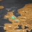 แผนที่โลกแบบขูด Scratch Map thumbnail 5