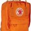กระเป๋า Fjallraven Kanken Mini สีส้มสด Burnt orange พร้อมส่ง thumbnail 3