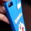 ซิลิโคนลายแมวสีฟ้าเกาะหลัง Huawei P8 lite thumbnail 3