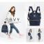 กระเป๋า Anello ขนาด mini สีน้ำเงิน Navy ของแท้ นำเข้าจากญี่ปุ่น พร้อมส่ง thumbnail 1