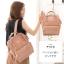 กระเป๋า Anello แบบหนัง PU ขนาดเล็ก mini สีชมพู Pink ของแท้ นำเข้าจากญี่ปุ่น พร้อมส่ง thumbnail 2