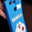 ซิลิโคนลายแมวสีฟ้าเกาะหลัง Huawei P9 thumbnail 3