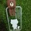 Tpu หมีน้ำตาลเกาะหลังลายหมีกับเป็ดน้อย (มีไฟ) iPhone7/iphone8(ใช้เคสตัวเดียวกัน) thumbnail 3