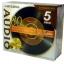 Mitsubishi CD-R AUDIO 5 Colors Mix VMUR80PHM5 (5 pcs/Jewel Case)