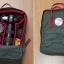 กระเป๋าเป้ Fjallraven Kanken Classic สี Forest Green & Ox Red พร้อมส่ง thumbnail 9