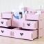 DIY box กล่องลายหัวใจ 4 ลิ้นชัก thumbnail 8