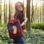 กระเป๋า Fjallraven Kanken Classic สี Royal Blue and Ox Red สีน้ำเงิน สายสะพายแดง พร้อมส่ง thumbnail 7