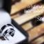 แหวนคู่รักเงินแท้ เพชรสังเคราะห์ ชุบทองคำขาว รุ่น LV15231523 Double Dot thumbnail 2
