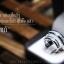 แหวนคู่รักเงินแท้ เพชรสังเคราะห์ ชุบทองคำขาว รุ่น LV14341435 Grand Eternity Half B&G thumbnail 2